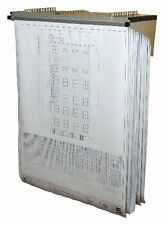 Adiroffice Tiefer Lift Wand Rack für Blueprints Pläne W/12 Feile Hängen Klemmen