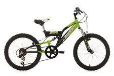 Kinderfahrrad 20 Zoll Mountainbike Fully Zodiac Schwarz-Grün RH 31 cm 604K