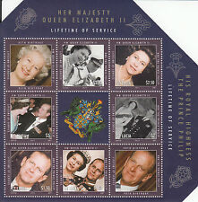 St Lucia 2011 MNH Lifetime of Service Queen Elizabeth II 6v M/S Royalty Stamps