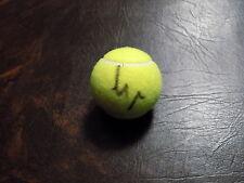 GARBINE MUGURUZA AUTOGRAPHED NEW PENN TENNIS BALL W/COA