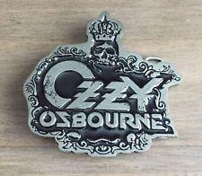 More details for ozzy osbourne 2007 concert belt buckle - metal buckle - monowise limited usa