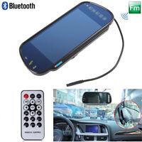 "7"" TFT LCD Car Rear View Backup Mirror Monitor Bluetooth MP5/DVD/TV/MTV Screen"