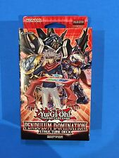 Pendulum Domination - Structure Deck - 1st - Sealed & New - Yu-Gi-Oh