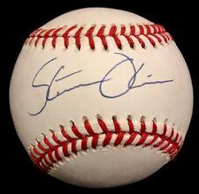 VARY RARE Steve Olin dec.92 age 27 PSA/DNA Signed Baseball Cleveland Indians