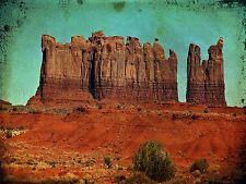 PHOTO LANDSCAPE COMPOSITION MONUMENT VALLEY UTAH USA CLIFF ROCK POSTER BMP10054