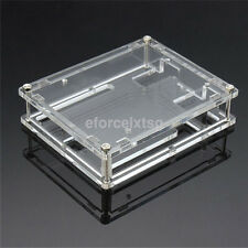 New Case Holder Enclosure Transparent Acrylic Box Compatible for Arduino UNO R3