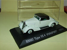 RENAULT TYPE YZ4 VIVASPORT 1934  1/43 J48