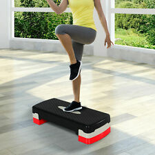 Step Fitness Tabla Stepper Aeróbic Deporte Gimnasia Altura Regulable 3 Tipos NUE