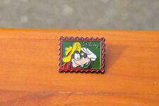 Goofy Euro Disney Metal Enamel Postage Stamp Lapel Pin Pinback 1992 Walt Disney