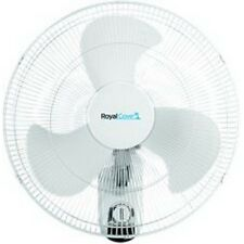 Royal Cove 2477855 3-Speed Oscillating Wall Mount Fan, 18 In. NEW