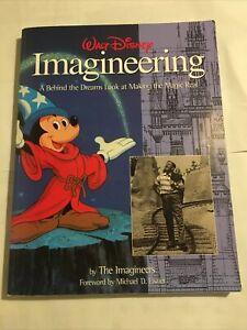 Walt Disney Imagineering Book. Behind The Scenes Design Disney Parks