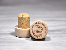 Personalized Wine Stopper Wedding Favors Wood Wine Corks Custom Wedding Gift