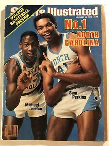 1983 Sports Illustrated NORTH CAROLINA Tar Heels MICHAEL JORDAN No Label 1st COV