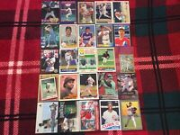 HALL OF FAME Baseball Card Lot 1979-2020 CLAYTON KERSHAW KEN GRIFFEY ERNIE BANKS