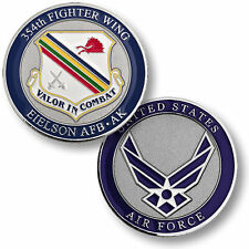 U.S. Air Force / 354th Fighter Wing, Eielson Base, AK - AFB Challenge Coin