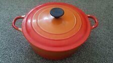 Le Creuset Cousances 22 D Orange Casserole Pot