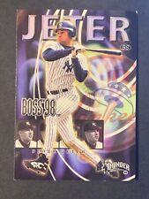 """Derek Jeter 1998 Circa Thunder """"Boss"""" #9 of 20 Embossed Insert. (G1)."""