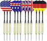 Welltop 12 Packs Steel Tip Darts, 18 Grams Dart Tip Set with Aluminum Shaft and