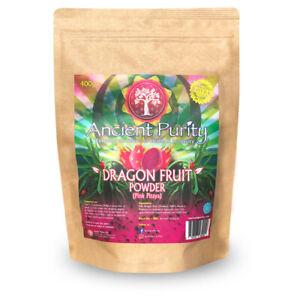 DRAGON FRUIT POWDER (PINK PITAYA) BETALAINS/CAROTENOIDS/IRON - 400G