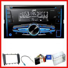 Komplett Set Mercedes C-Klasse W203 CLC CL203 S203 JVC KW-R520 USB CD FLAC MP3