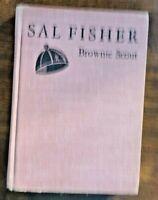 VINTAGE SAL FISHER BROWNIE SCOUT BY L.S. GARDNER HB 5TH PRINTING 1957