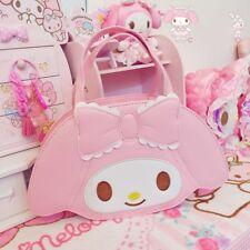 My Melody Pink Cute Bow PU Handbag Shoulder Bag Messenger Lolita Girl Xmas Gift