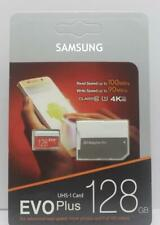 SAMSUNG - SD Memory CARD- EVO Plus -128GB, Class 10 90MB/s - microSDXC Card