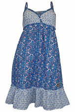 Ärmellose Mini-Damenkleider mit V-Ausschnitt aus Baumwolle