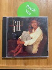 Faith Hill : Take Me As I Am CD