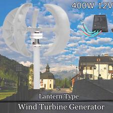 Windrad Windkraftanlage Garten Windturbine Windgenerator Vertikale 12V 400W Whit