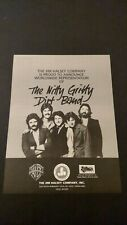 THE NITTY GRITTY DIRT BAND/JIM HALSEY CO.'84 RARE ORIGINAL PRINT PROMO POSTER AD