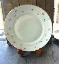Vintage Handpainted Richard Ginori Italy Porcelain Plate - Small Flowers