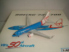 "Phoenix 400 Virgin Blue Airlines B737-700WL ""50th Aircraft livery"" 1:400"