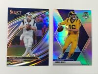 2019 Select JARED GOFF Field Level Silver Prizm #300 & 2020 Mosaic Silver LOT🔥