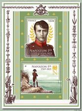 france 2021 200th ann death EMPEROR NAPOLEON 1er 1769 1821 bonaparte ms2v mnh