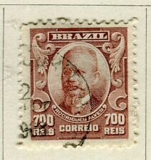BRAZIL; 1906 early Portraits issue fine used 700r. value