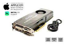 NVIDIA GTX 680 SC 2GB Video Card for Apple Mac Pro: CUDA, METAL Support and 4K