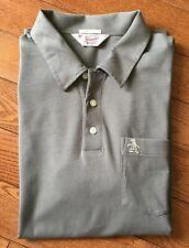 Original Penguin Munsingwear Polo Shirt Classic Fit 100% Pima Cotton Grey Mens M