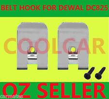 Driver Belt Hooks+2Screw for Dewalt 18v battery DC825 DC827 DC820 DC830 DC835