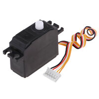 1:12 RC Vehicle Model Parts Steering Servo for WLtoys 12428 12423 RC Buggy