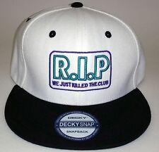Hip Hop Snapback  Hat R.I.P We Just Killed The Club - Urban Street wear