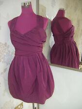 Beautiful All Saints Elliah Dress Mulberry Size 10 Excellent Condition