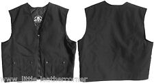 "Bad Company Leatherwear Club Kutte""Bad Co.TEX""schwarz Textil Harley-Rocker Weste"