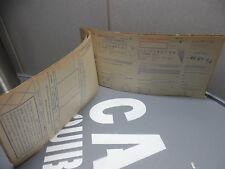Très vieux chèquier 1954