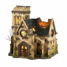 Dept 56 Halloween Village THE HAUNTED CHURCH 4036592 BNIB Department 56