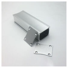 110*38*29.5mm Silver Aluminum Enclosure case power amp box PSU chassis