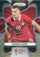 Prizm World Cup 2018 B/G Wave Parallel Base Card #181 Dusan Tadic - Serbia