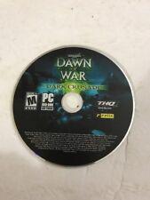 Warhammer 40,000: Dawn of War -Dark Crusade (PC)COMPLETE Ships N 24h Only Disc