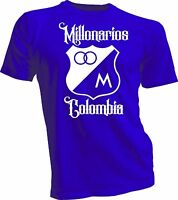 Millonarios Football Club Colombia Soccer T Shirt Camiseta Postobon  jersey