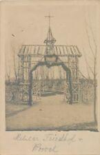 Ak, Wk1, Militär Friedhof, Kowel (N)19334